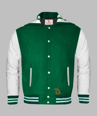 Sailor Collar Letterman Jacket