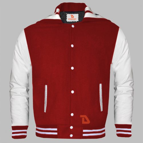 Sailor Collar Letterman Jackets